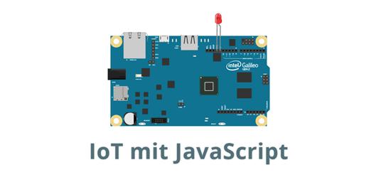 IoT mit JavaScript Logo